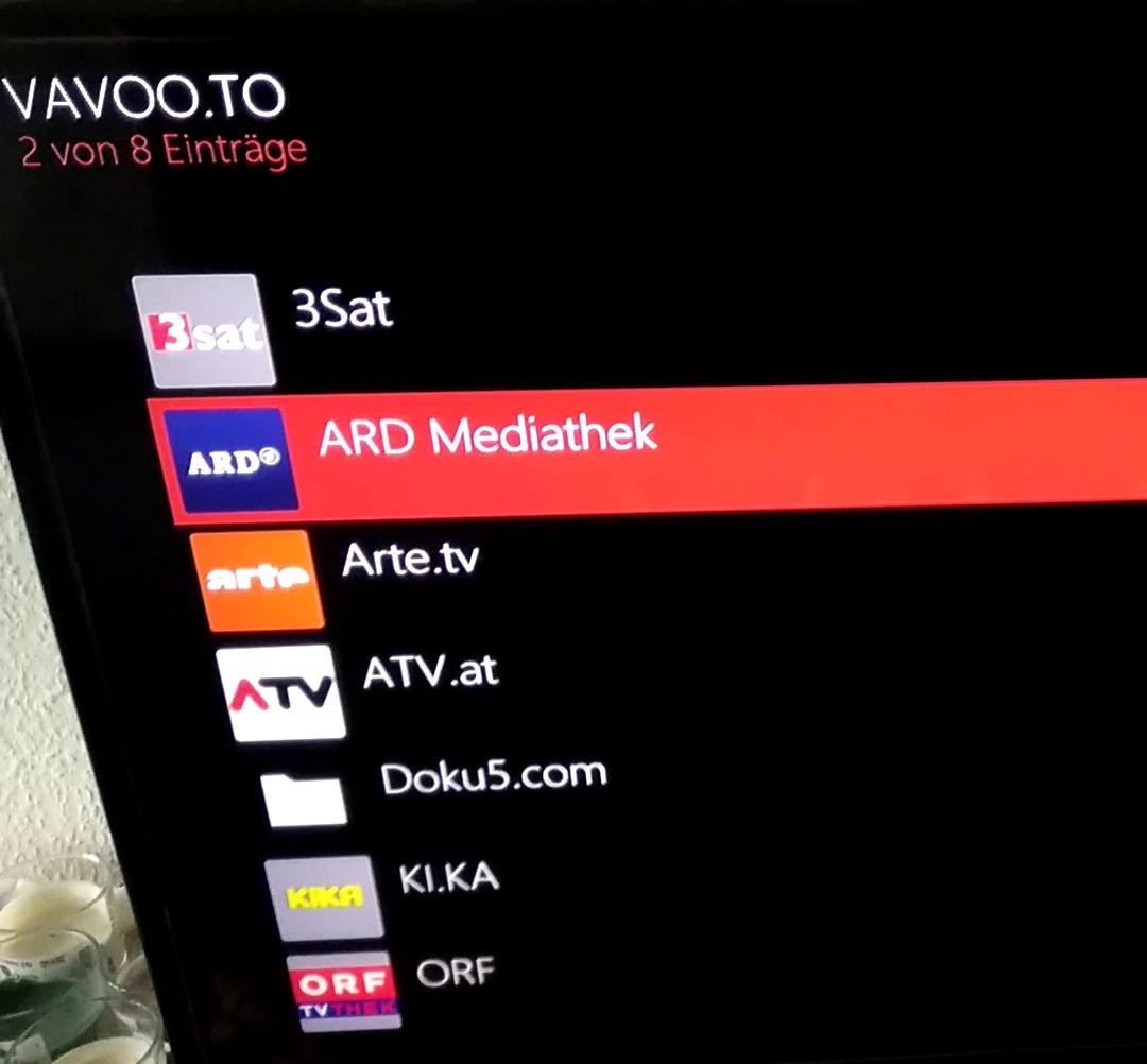 Senderliste vavoo Free IPTV