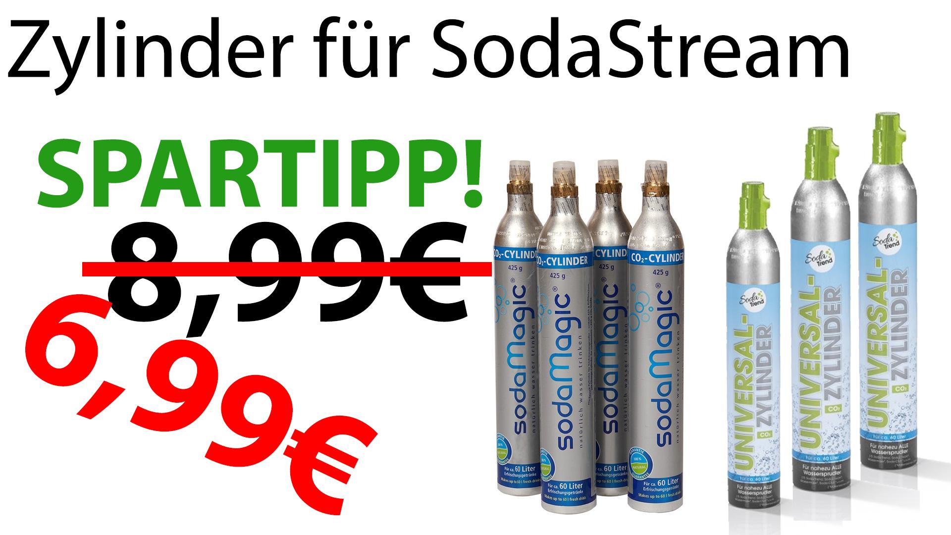 Sodastream Co2 Zylinder Preis