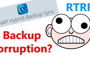 backup corruption