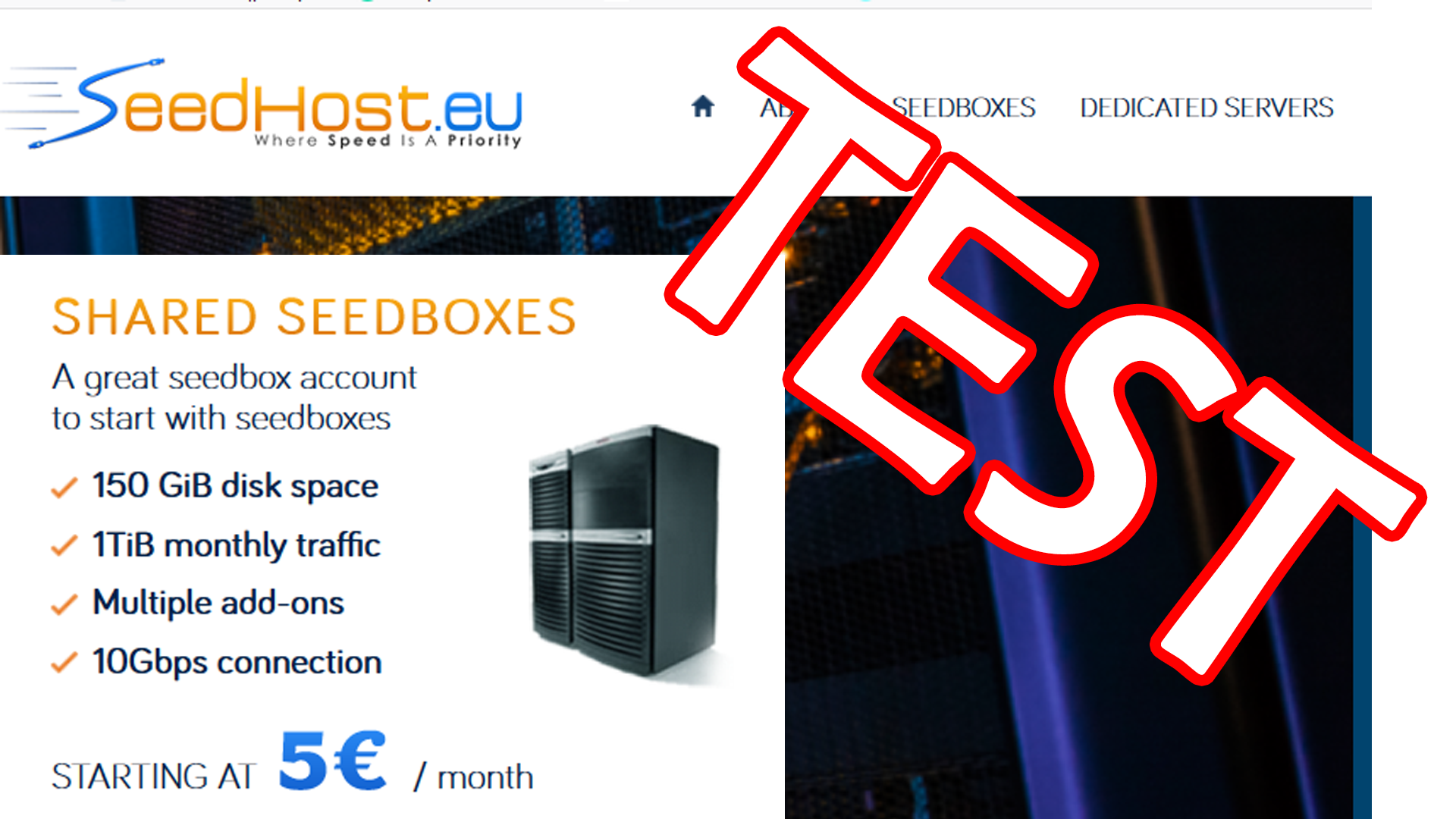 Review: Seedbox at Seedhost eu (Video) - UsefulVid